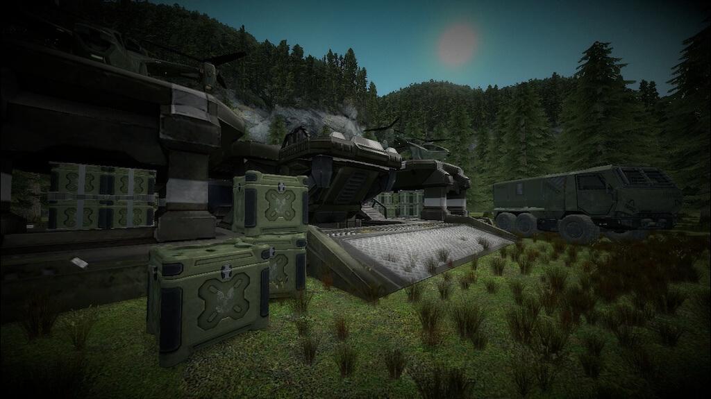 Garry's Mod 13 - Модели базы UNSC из Halo Wars