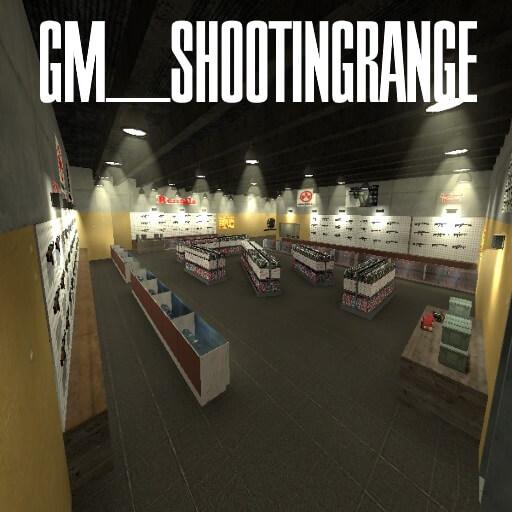 "Garry's Mod 13 - Карта ""gm_shooting_range"""