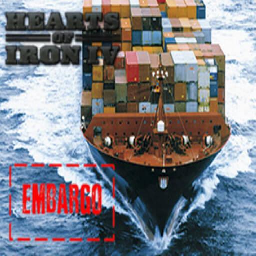 Hearts of Iron IV - Торговое эмбарго стран