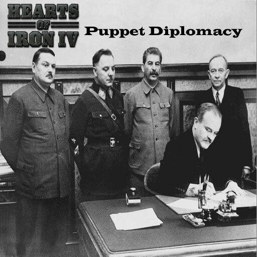 Hearts of Iron IV - Марионеточная дипломатия