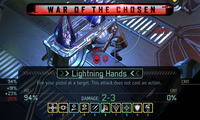 XCOM 2 - Cost Based Ability Colors - Цена способностей в цветах
