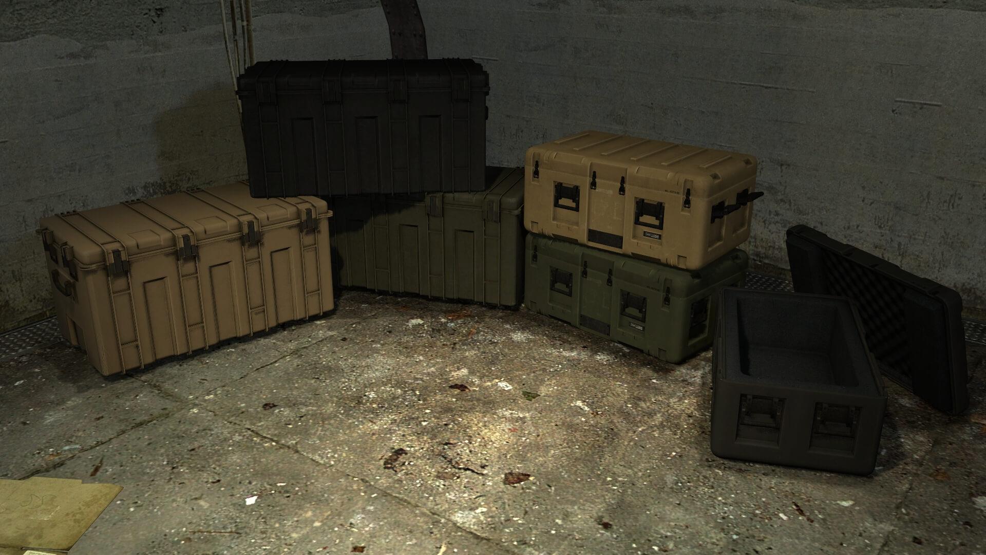 Garry's Mod 13 - Военные кейсы (пропы)