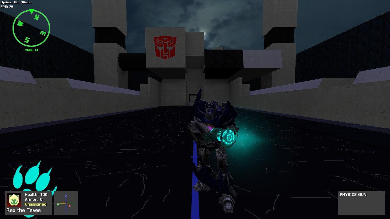 Garry's Mod 13 - Transformers WFC/FOC - Трансформеры (модели игрока)