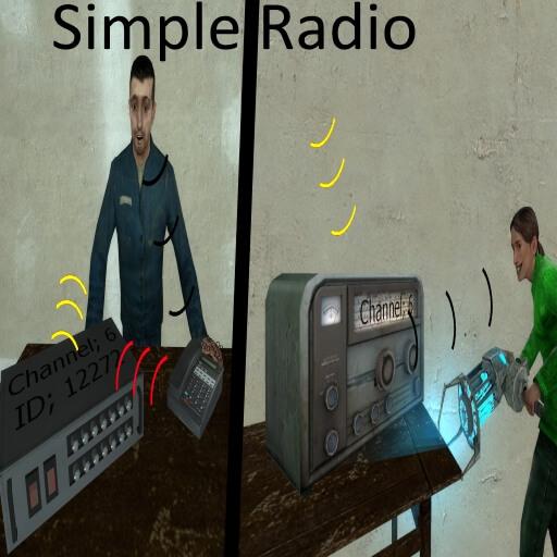 Garry's Mod 13 - Простое радио
