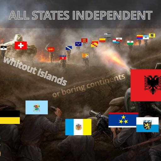 Hearts of Iron IV — Свободные государства
