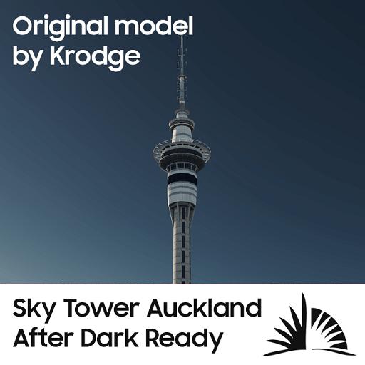 Cities: Skylines - Скай-тауэр из Окленда