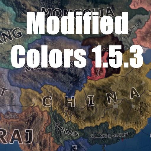 Hearts of Iron IV - Изменение цветов 1.5.3 / Modified Colors 1.5.3