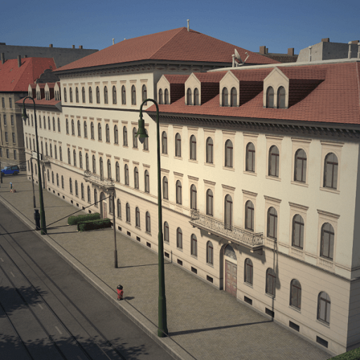 "Cities: Skylines - Отель ""Bavarian Court"", Дрезден"