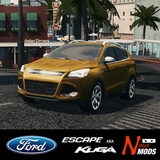 Cities: Skylines - 2016 Ford Escape Kuga
