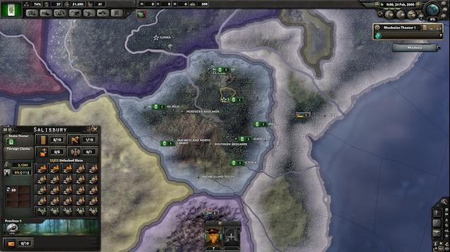 Hearts of Iron 4 - Millennium Dawn Rhodesia