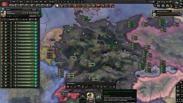 Hearts of Iron IV - Границы Дивизиона +/Division Limits +