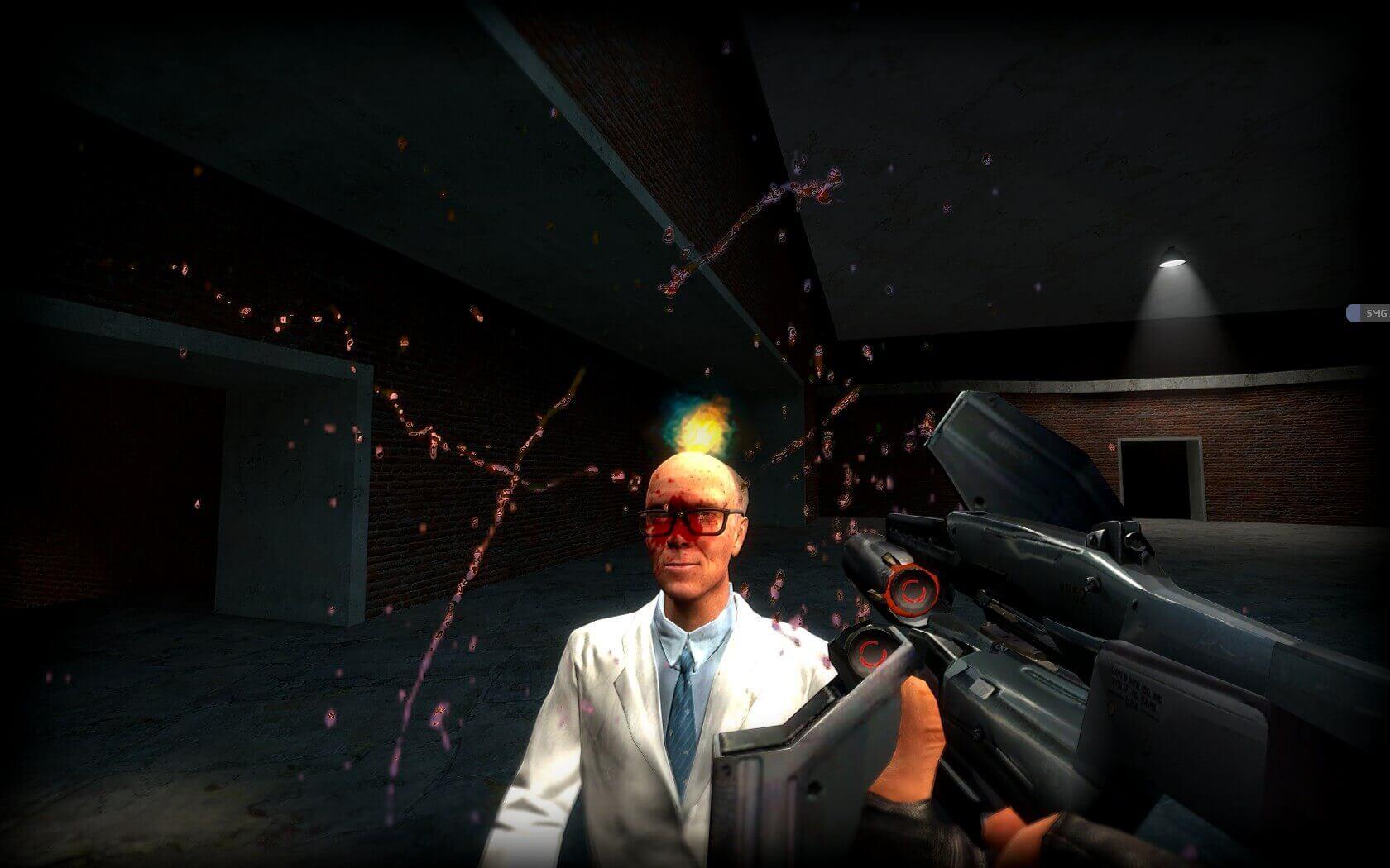 Garry's Mod 13 - Рефлективные частицы крови