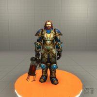 Garry's Mod 13 - Игровая модель человека-мужчины из World of Warcraft