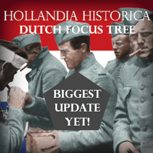 Hearts of Iron IV - Hollandia Historica - фокусы для Нидерландов