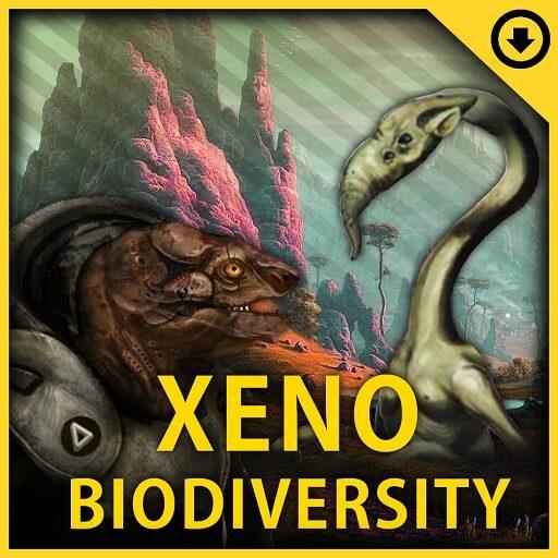 Stellaris - Xeno Biodiversity - новые инопланетные расы