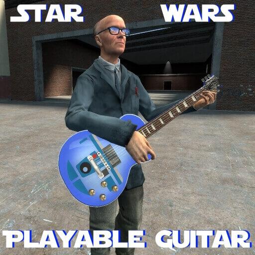 Garry's Mod 13 - Реалистичная гитара (играбельная; стилистика Star Wars)