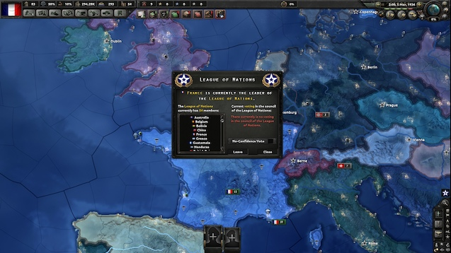 Hearts of Iron IV - Лига Наций