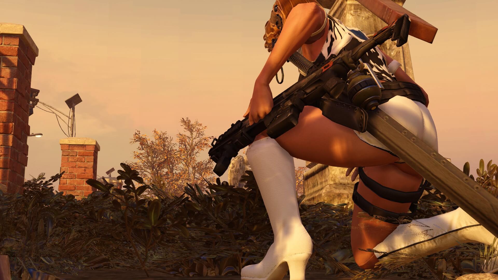 XCOM 2 - Полицейское снаряжение из DEAD OR ALIVE 5: ULTIMATE (WotC)