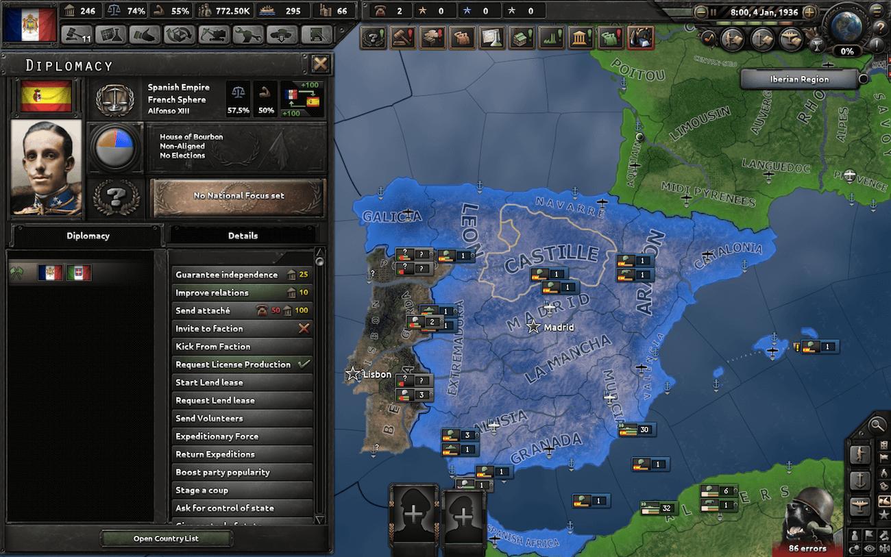 Hearts of Iron IV - Свой путь для Франции