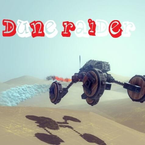 Besiege - Dune raider