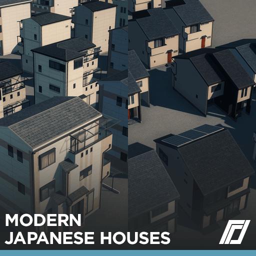 Cities: Skylines - Современные японские дома