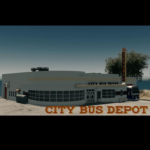 Cities: Skylines - Депо городского автобуса