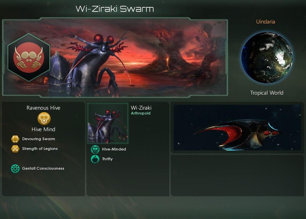 Stellaris - Природные комнаты (фоны)