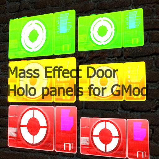Garry's Mod - Голограммы дверей из Mass Effect 2,3