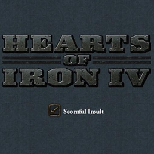 Hearts of Iron IV - Презрительные оскорбления