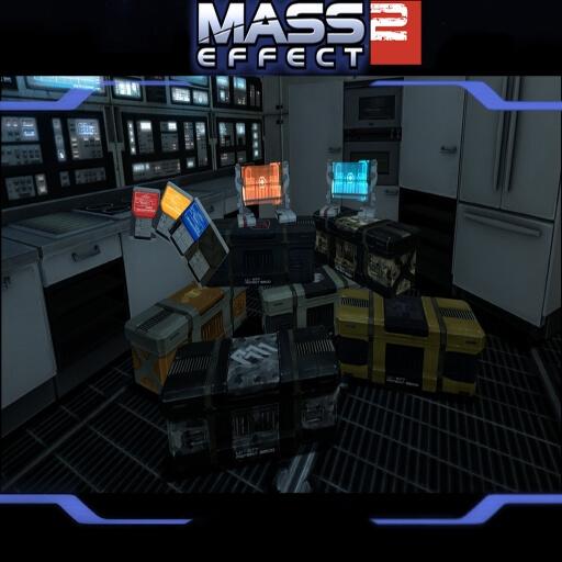 Garry's Mod - Пропы из Mass Effect