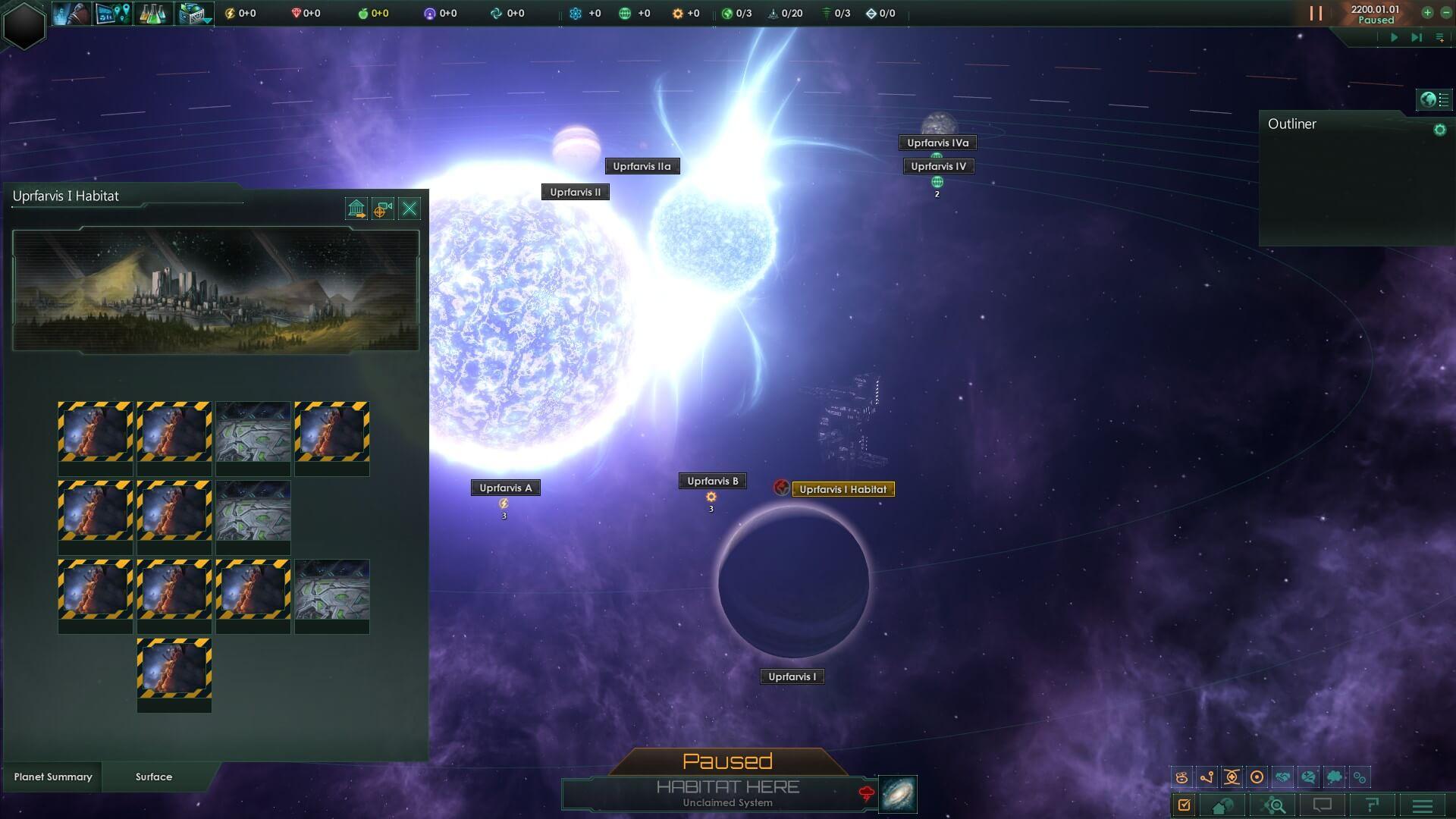 Stellaris - Заброшенные места обитания