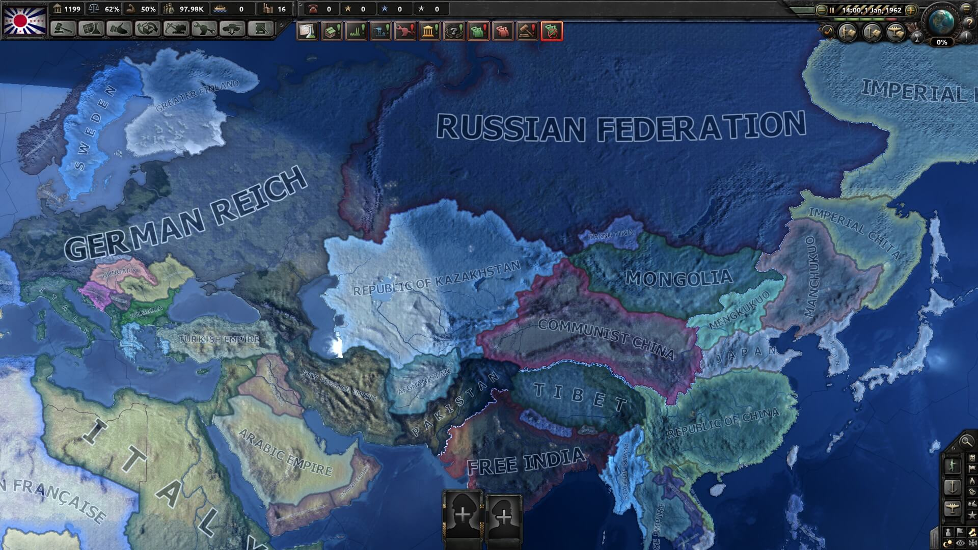 Hearts of Iron IV - Man In The High Castle