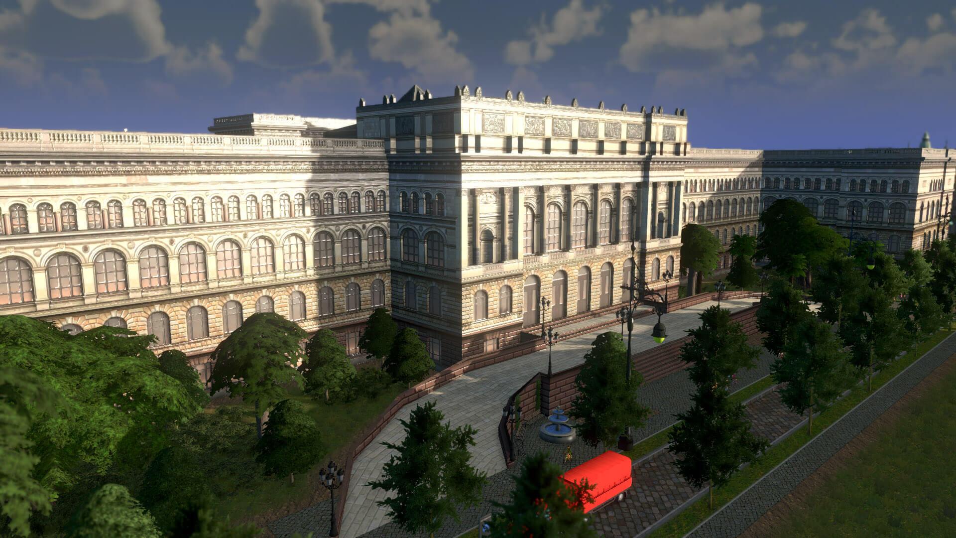 Cities: Skylines - Берлинский технический университет
