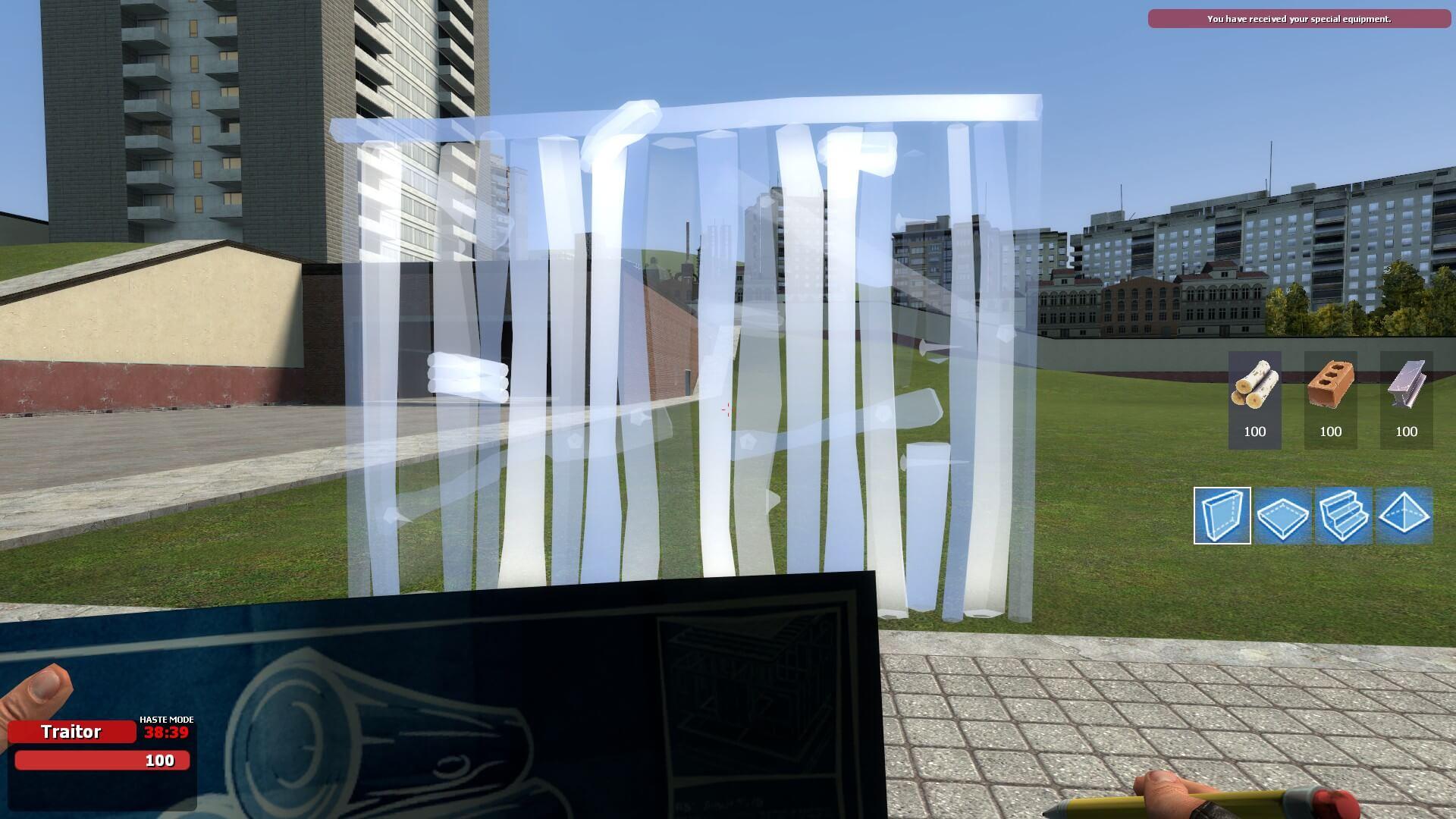 Garry's Mod - Fortnite Building Tool для TTT/SB – Мод-сообщество