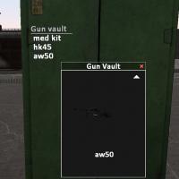 Garry's Mod - Хранилище оружие (возьми и сбрось)