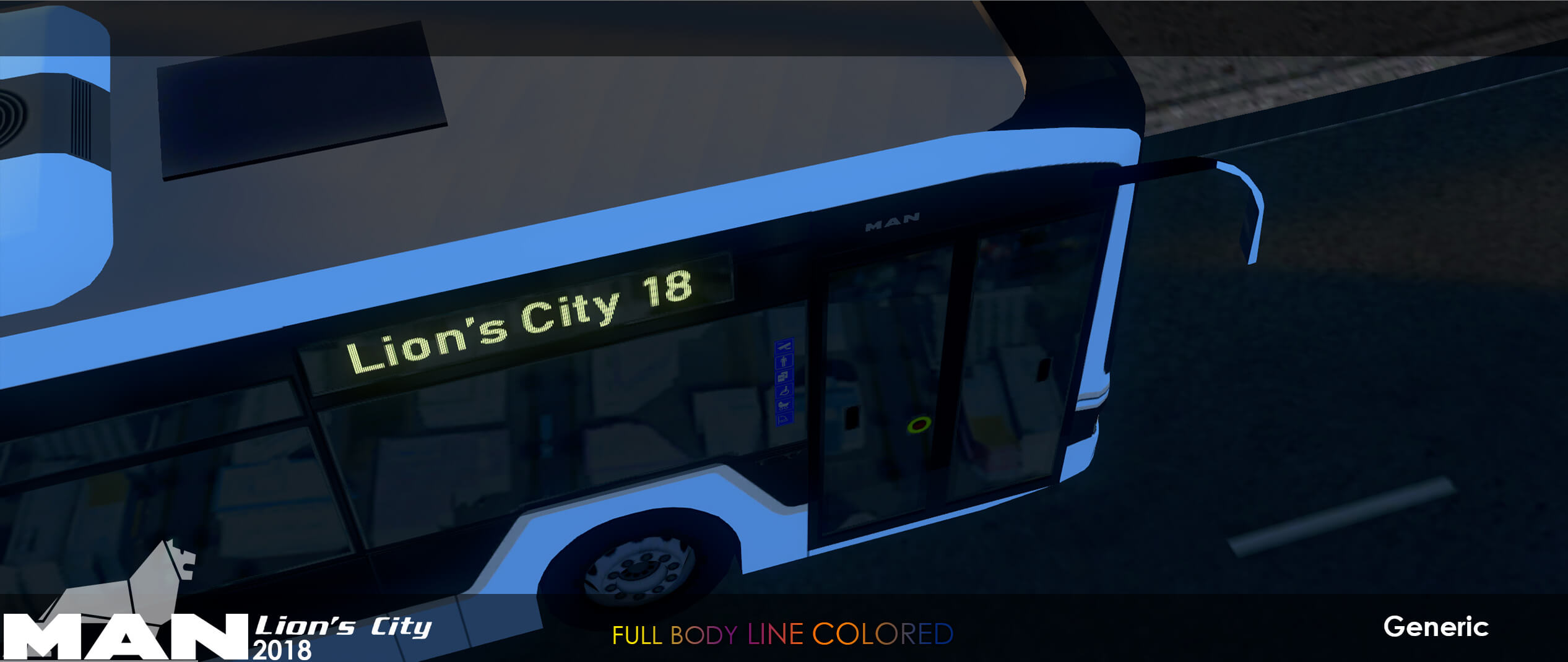 Cities: Skylines - MAN Lion's City