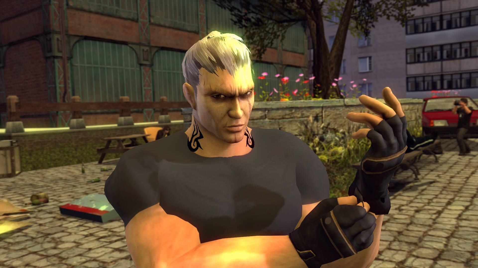 Garry's Mod - Каменщик (Bryan Fury из Tekken)