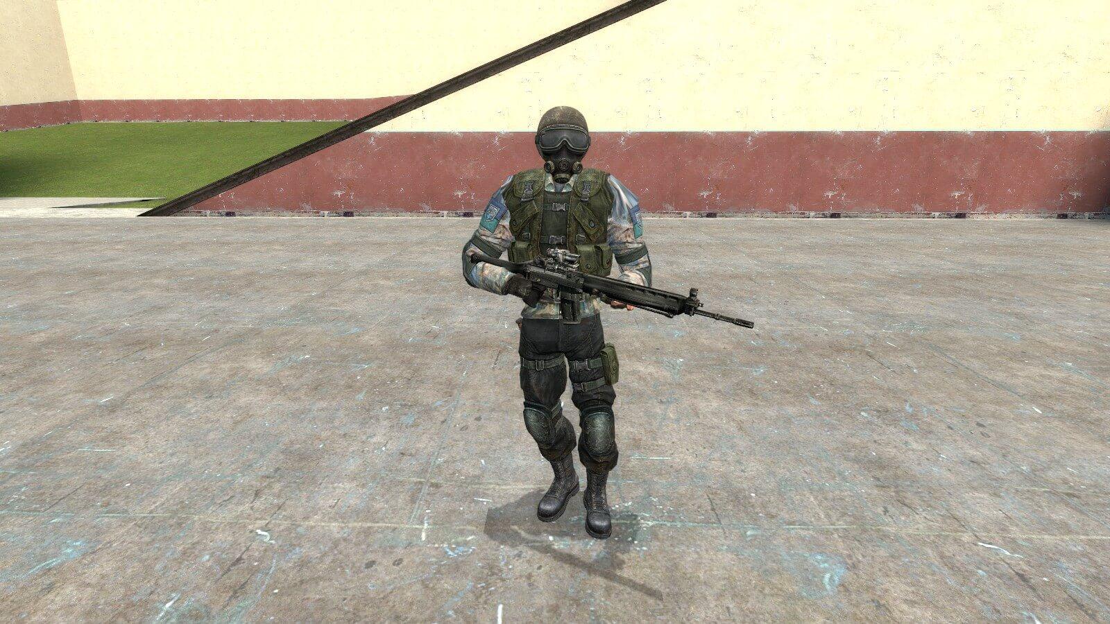 Garry's Mod - Бойцы