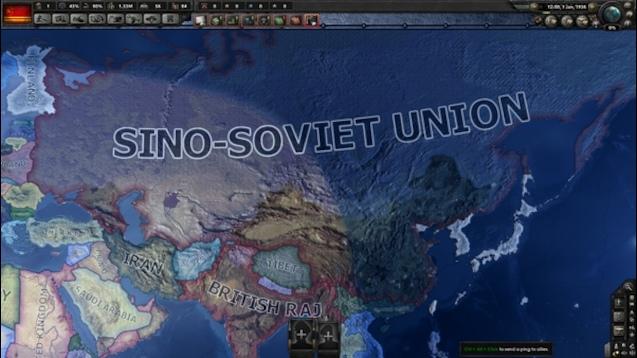 Hearts of Iron IV - Китайско-советский союз