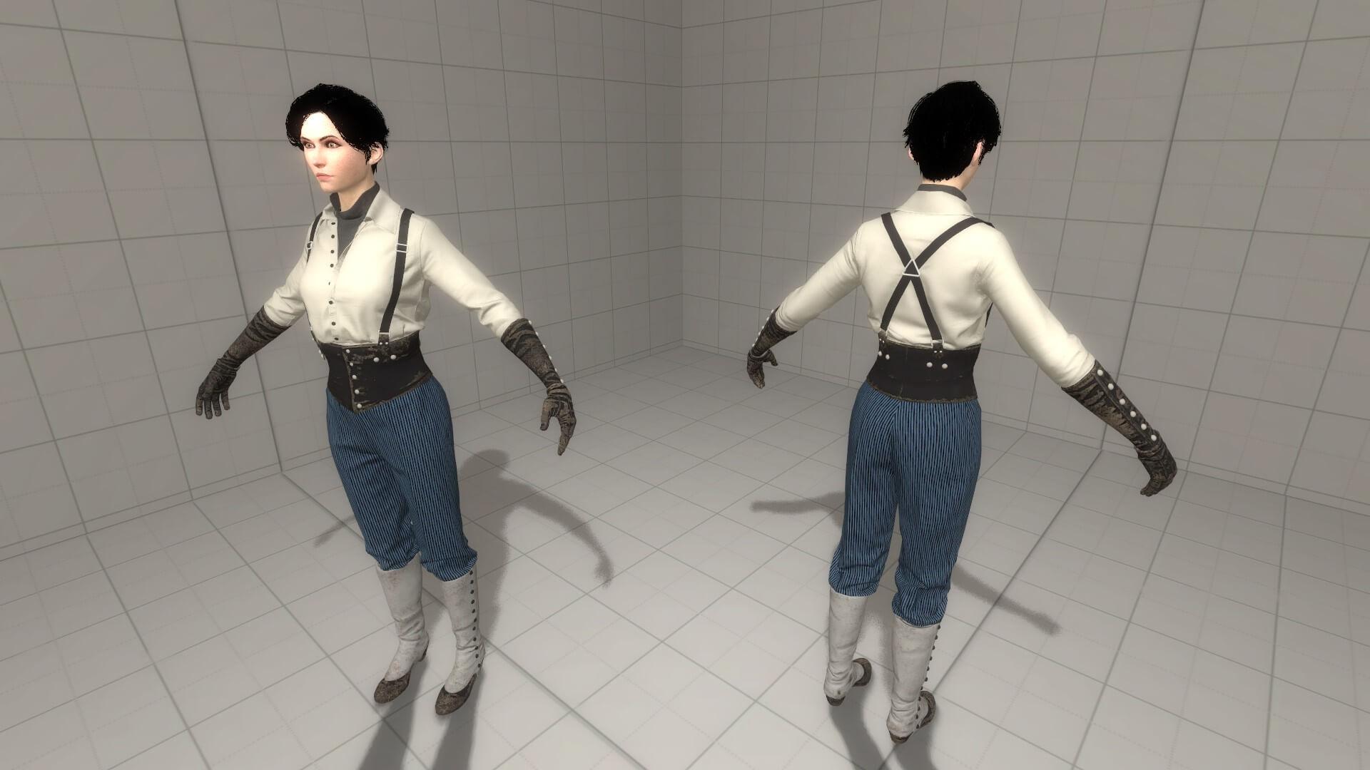 Garry's Mod - Cat the Thief из Call of Cthulhu (рэгдолл/NPC/PM)