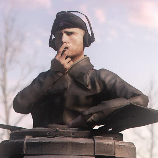 Garry's Mod - Немецкие танкисты Второй Мировой
