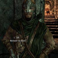 Skyrim SE - Открытые шлемы для стражников