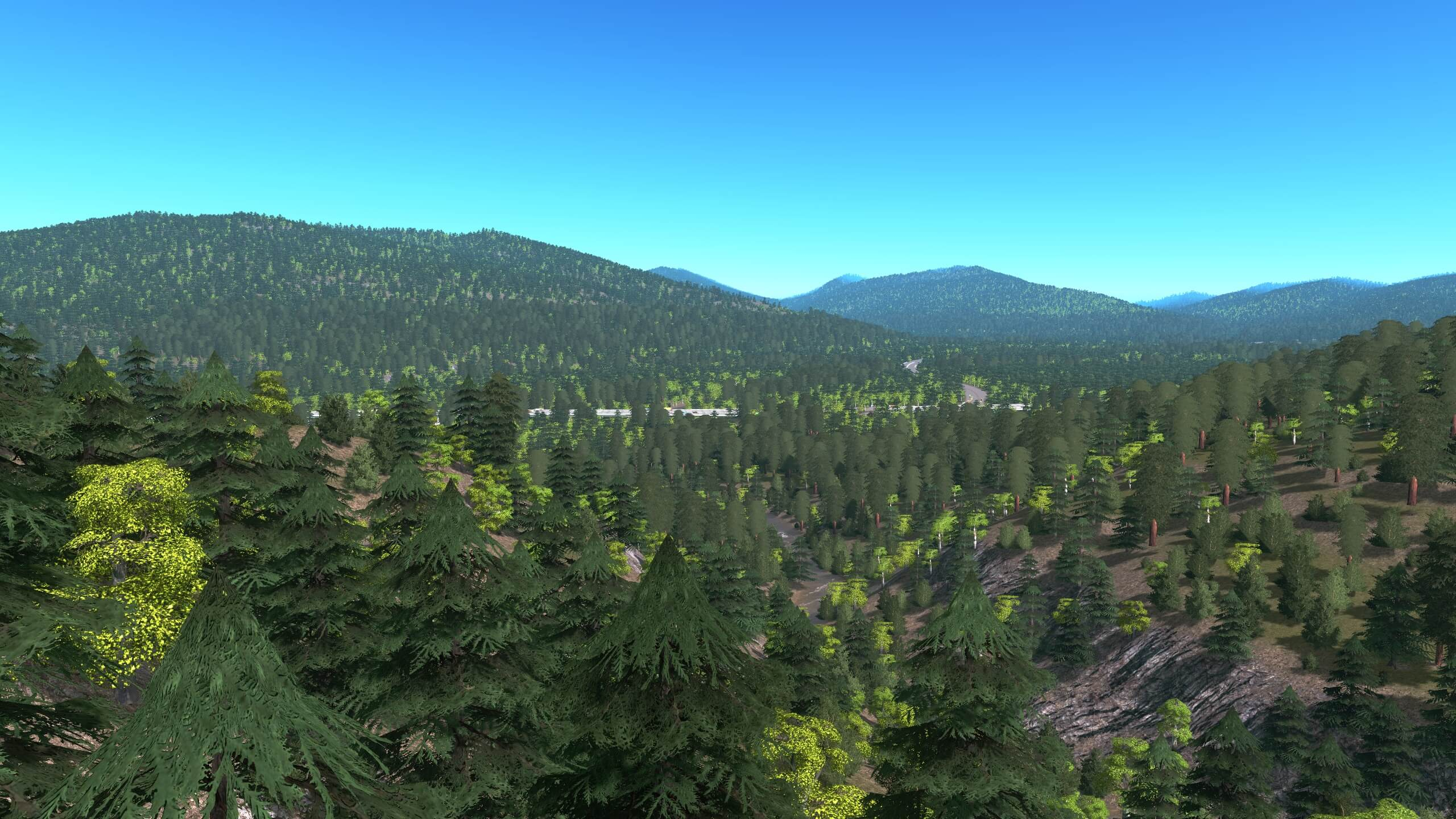 Cities: Skylines - Unlimited Trees Mod v1.11