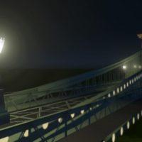 Cities: Skylines - Фонарь цепного моста в Будапеште, Венгрия