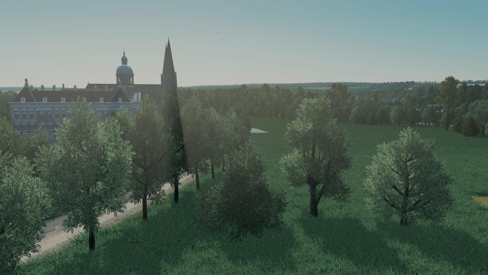 Cities: Skylines - Лиственные деревья