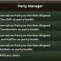 Hearts of Iron IV - Party Manager