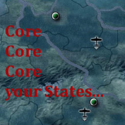 Hearts of Iron IV - Coring Decisions
