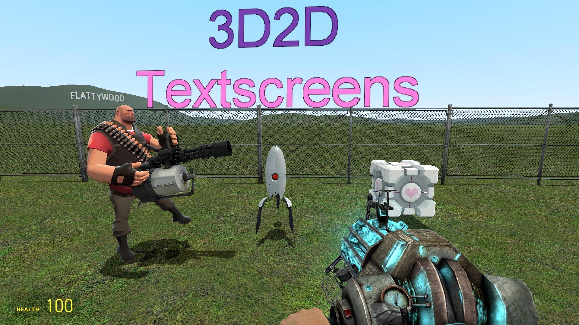 Garry's Mod - 3D2D Textscreens