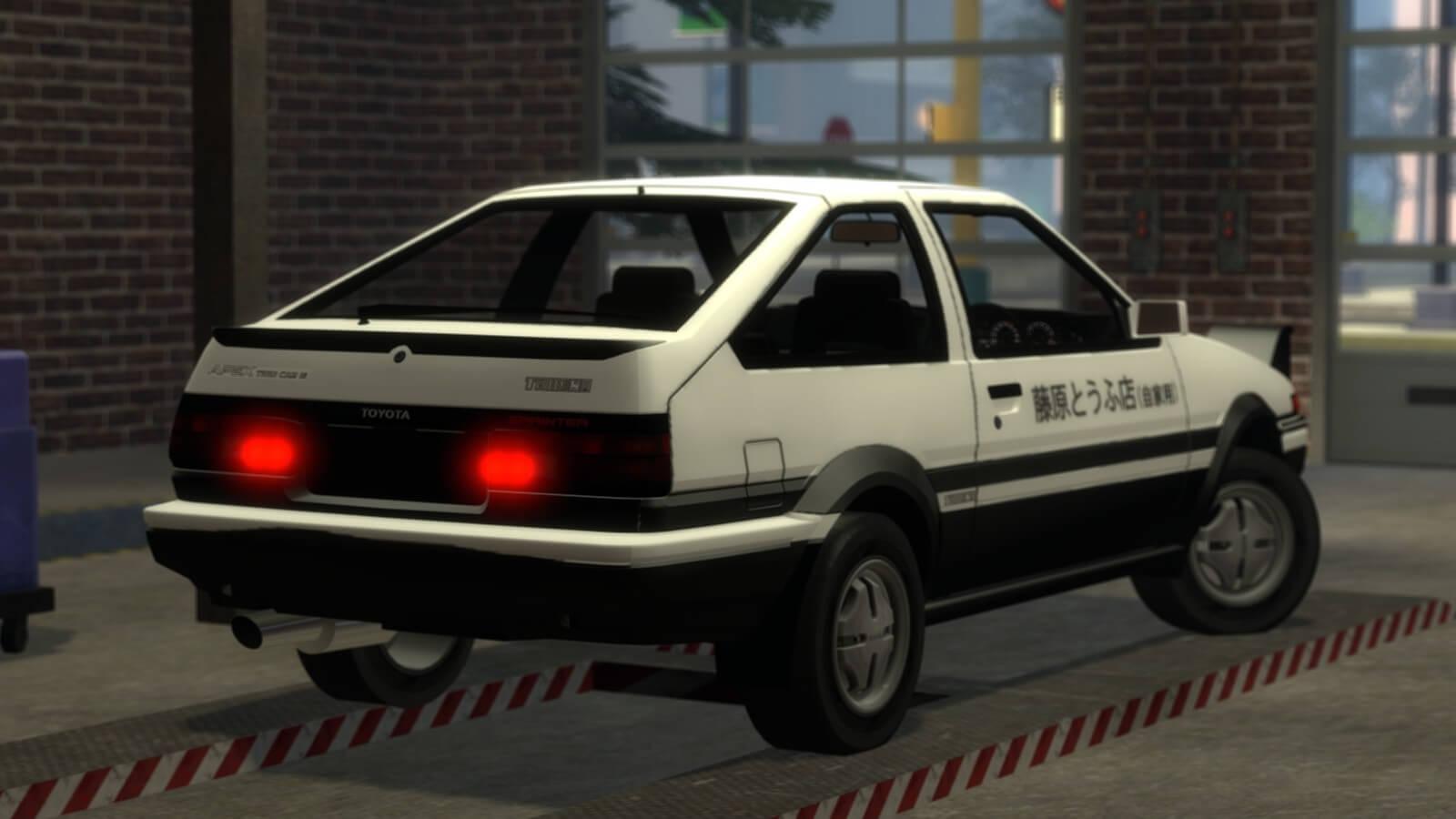 Garry's Mod - Initial D Toyota Sprinter Trueno GT-Apex AE86 [simfphys]
