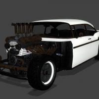 Garry's Mod - simfphys Declasse Tornado Rat Rod